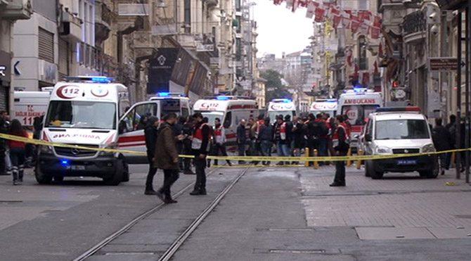 Taksim'deki saldırıda 3 İsrailli yaralandı