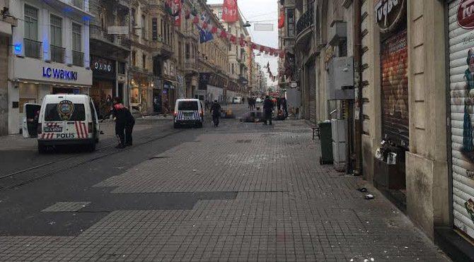 İstiklal Caddesi'nde patlama