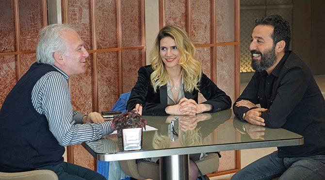 Ayşe Melis Çerçi ve Mustafa Üstündağ, Şeytan Tüyü filmini anlattı...