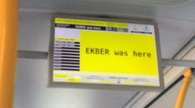 İETT hacklendi: 'Ekber was here'