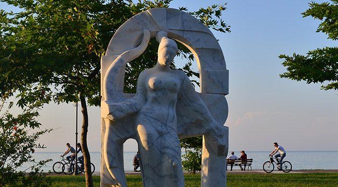 Ordu'da 5 heykele 'ahlaki duyarlılık' taşıması