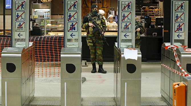 Avrupa'da üst düzey terör alarmı!