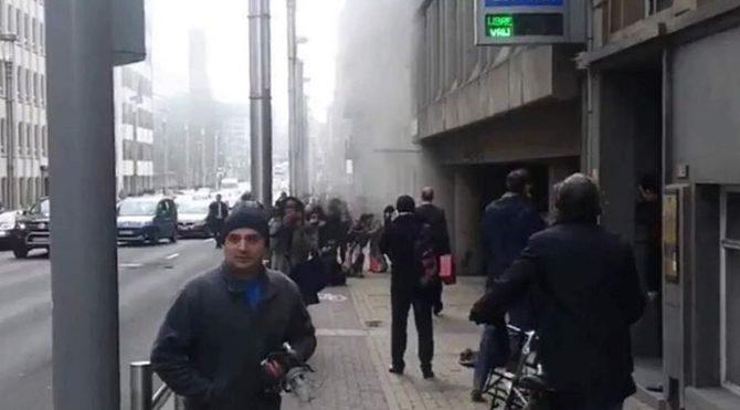 Belçika'da bir şok daha! Brüksel metrosunda patlama!