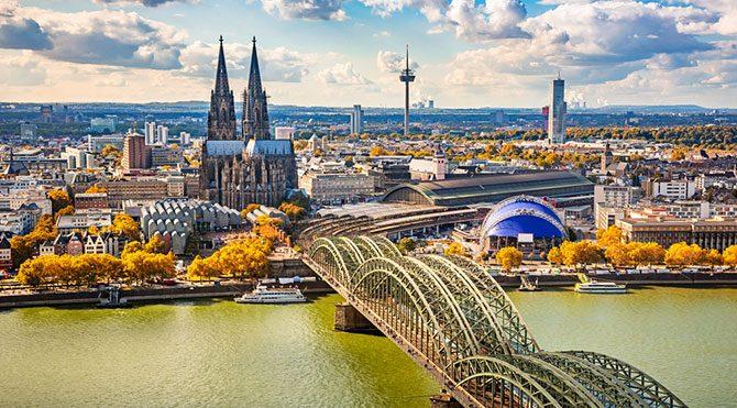 Kolonya'nın ilk imal edildiği yer; Köln