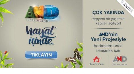 AND İnşaat Manşet Advertorial 24 Mart (İlan)