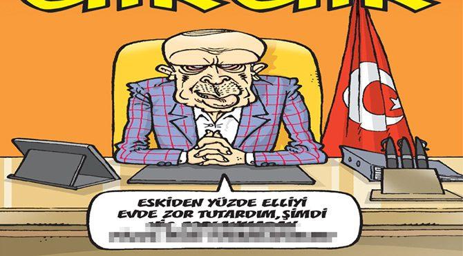 Gırgır'ın kapağında yüzde elli var