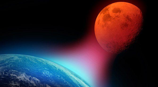 Kanlı Ay tutulması 2016