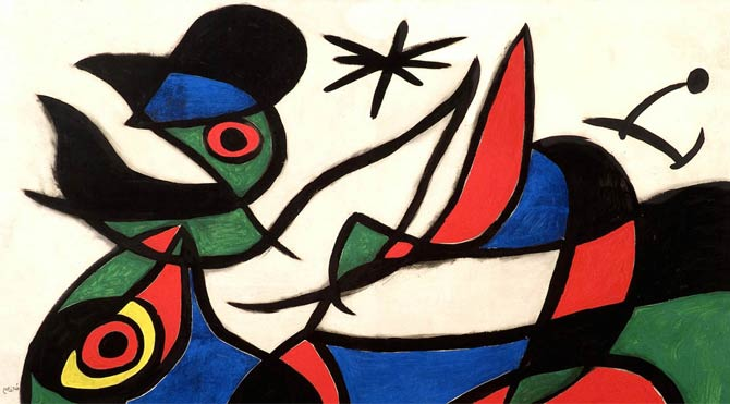 Sahte Miro sergisine 4.5 yıl hapis