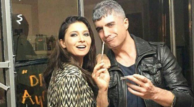 Özcan Deniz ve Nurgül Yeşilçay film çekimlerine başladı