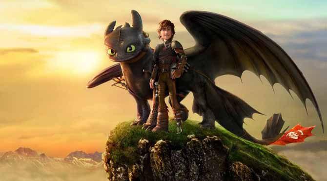 Ejderhanı Nasıl Eğitirsin, aynı adı taşıyan 2003'te yayınlanan kitabından DreamWorks Animation tarafından uyarlanan 2010 yılı 3D animasyon fantastik bir film.