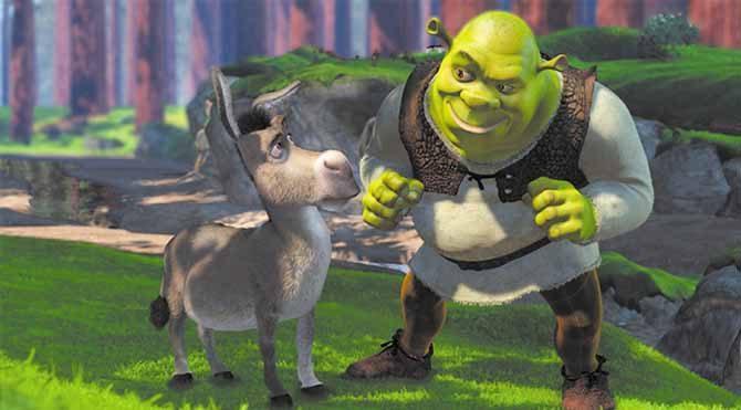 Shrek 2001 yılında ilk kez karşımıza çıkan bir karakterdi. Ünlü masallarla zaman zaman dalgasını geçen son derece eğlenceli bir animasyon filmi.