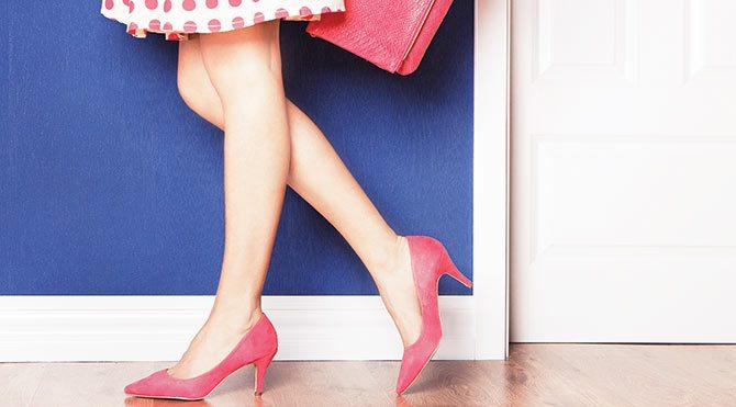 Topuklu ayakkabınız sorun yaratmasın!