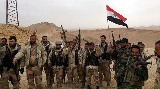 Suriye ordusu, antik kent Palmira'nın tamamını IŞİD'in elinden aldı