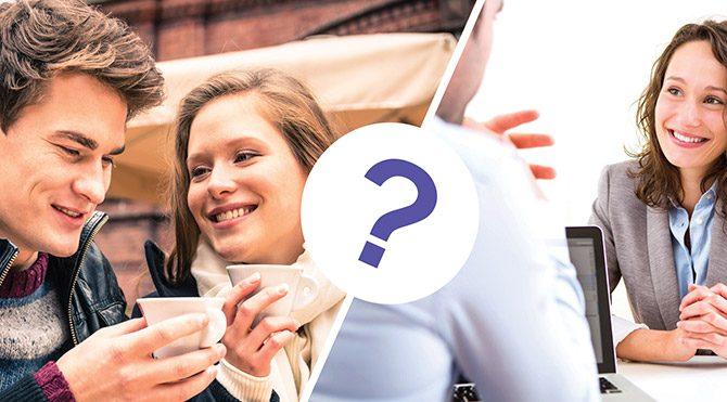 İş görüşmesi mi yoksa ilk buluşma mı daha zor? Foto: Bülten