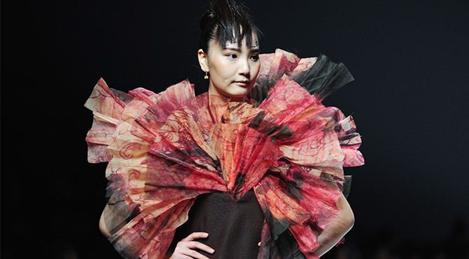 Çin'de genç modacılar yarıştı