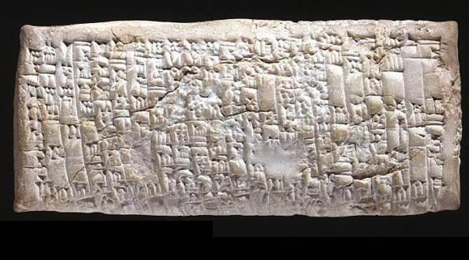 Antik Babil tabletindeki metin kafaları karıştırdı