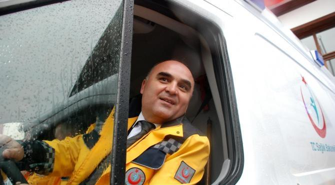 Kastamonu'da 9 ambulans törenle hizmete alındı