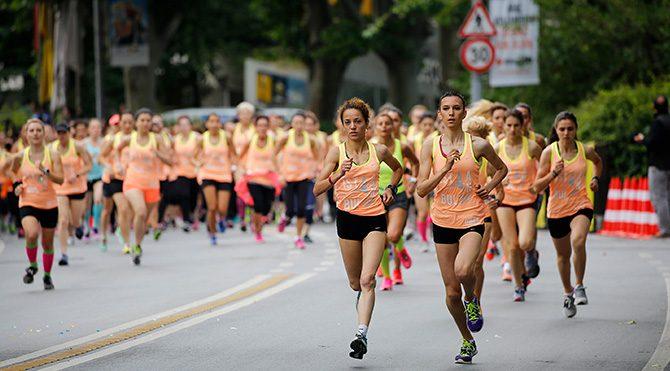 kadın koşusu Foto: Bülten