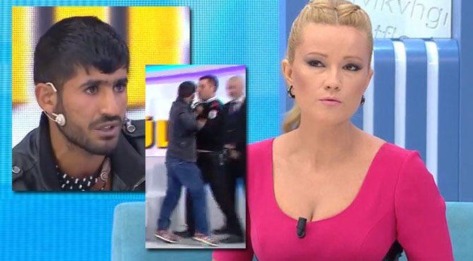 Müge Anlı'nın programında canlı yayında gözaltına alındı
