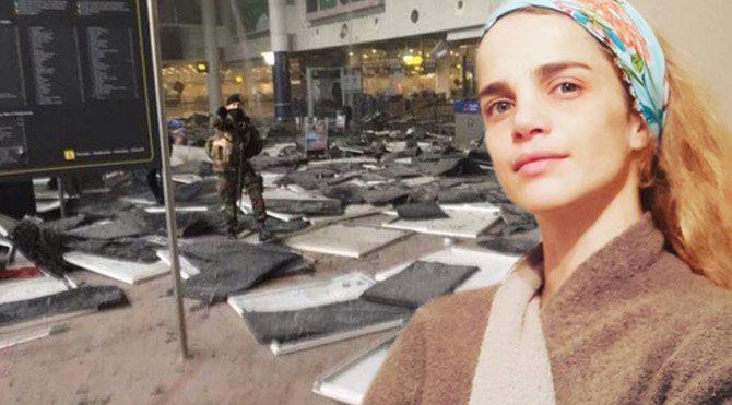 """Tuğçe Kazaz'ın Brüksel paylaşımı: """"DEAŞ da sizleri 'özgürce' patlatsın!"""""""