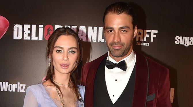 Deliormanlı'nın galasında Birce Akalay ve Sarp Levendoğlu'nun kavga etti