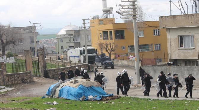 Siirt'te PKK'lının cenaze töreninde olay çıktı