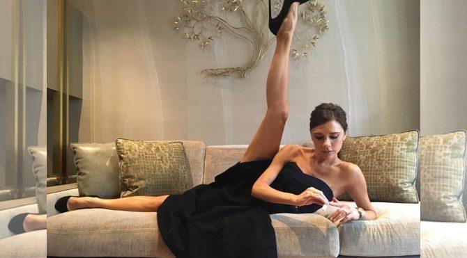 Victoria Beckham'la esneme keyfi