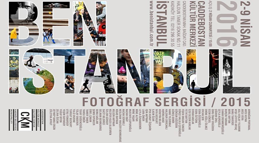 'Benİstanbul' fotoğraf sergisi bu hafta sonu açılıyor