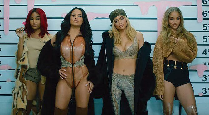 Soyguncu Kylie Jenner iş başında