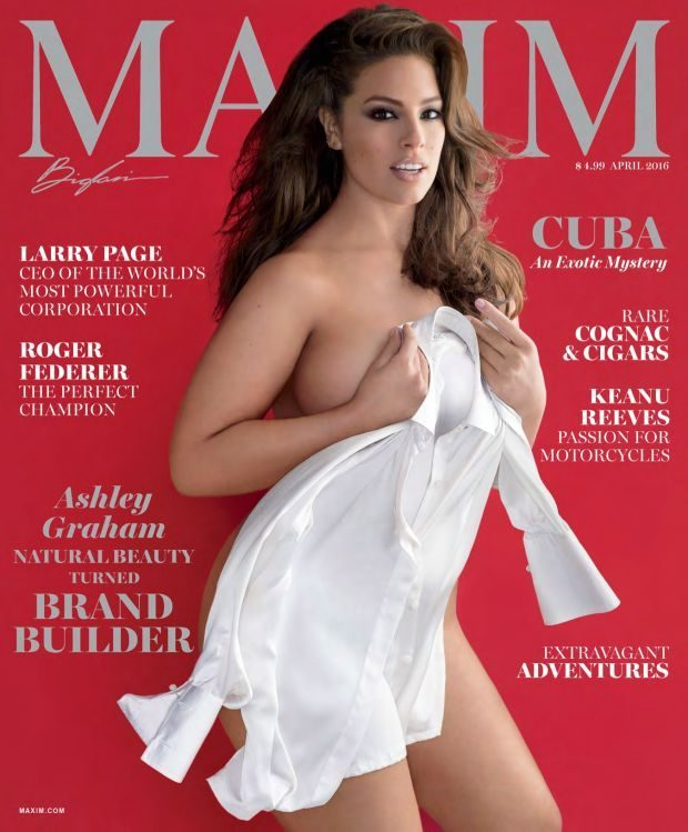 Ashley Graham - Maxim