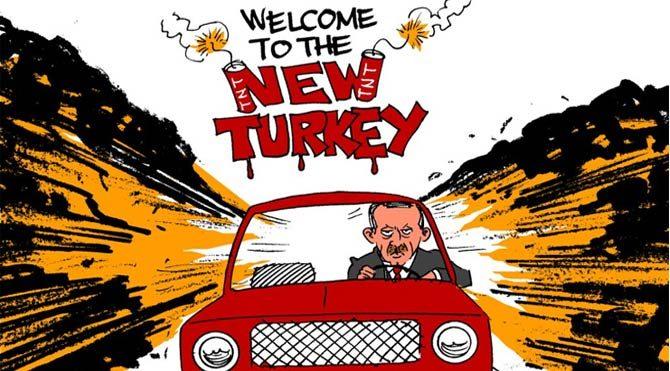 Carlos Latuff: Türkiye'de demokrasi yok