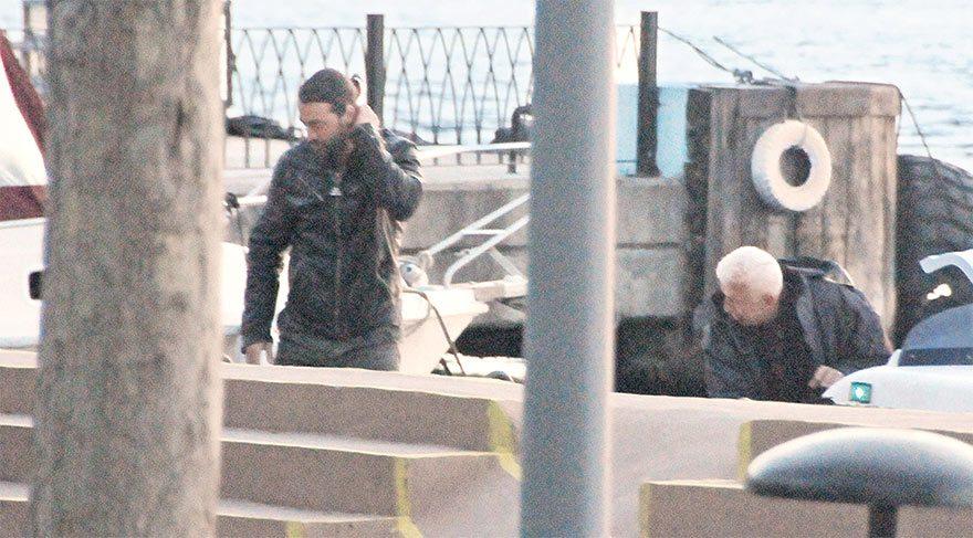 Önceki gün Sarp Levendoğlu sabah 08.00'e kadar gece kulübünde eğlendi.