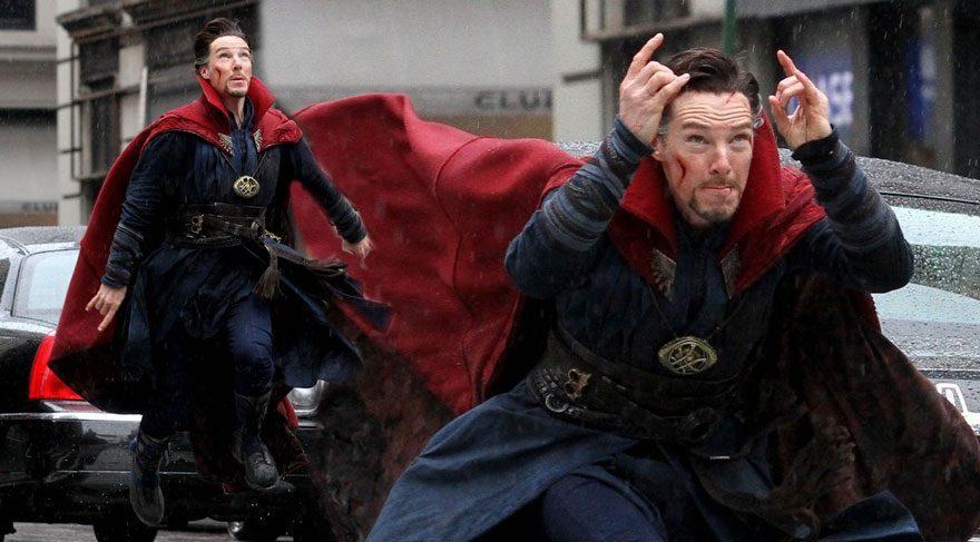 Doctor Strange'den yeni fotoğraflar geldi