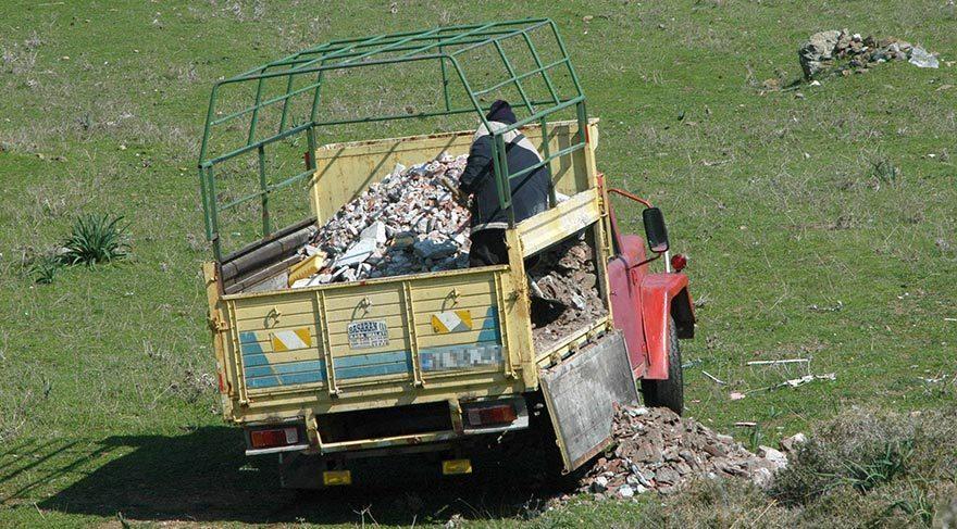 İzmir'de kaçak moloz dökümü engellenecek