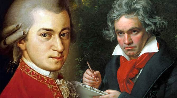 Beethoven, Mozart'ın koltuğunu elinden aldı