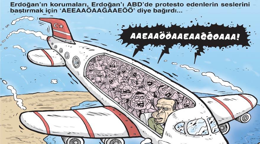 Recep Tayyip Erdoğan'ın korumaları Gırgır kapağında