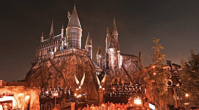 Harry Potter parkına görkemli açılış