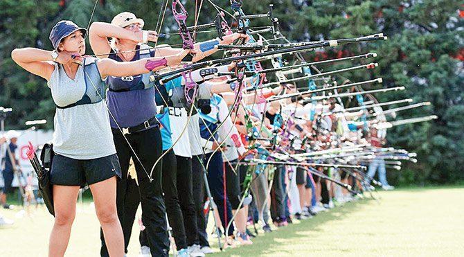 Kadın okçuların hedefi olimpiyat