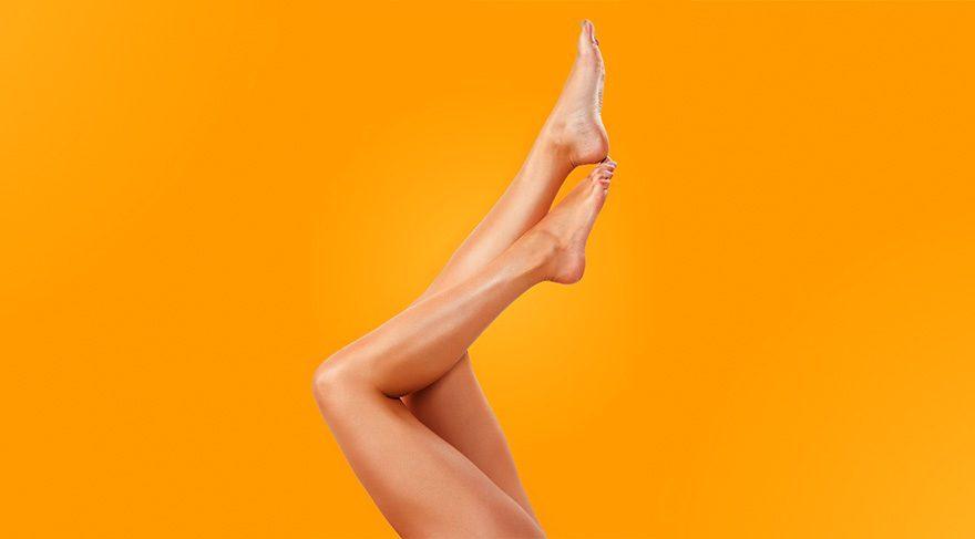 Pürüzsüz bacaklar için bunları yapın