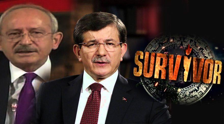 Siyasetçilerin gündemi 'sapık', ülkenin 'Survivor'