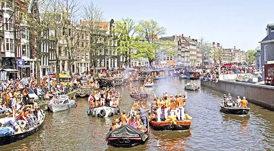 Hollanda 27 Nisan'da turuncuya bürünecek