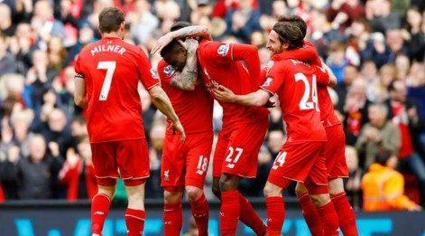 Liverpool, Stoke City'e geçit vermedi