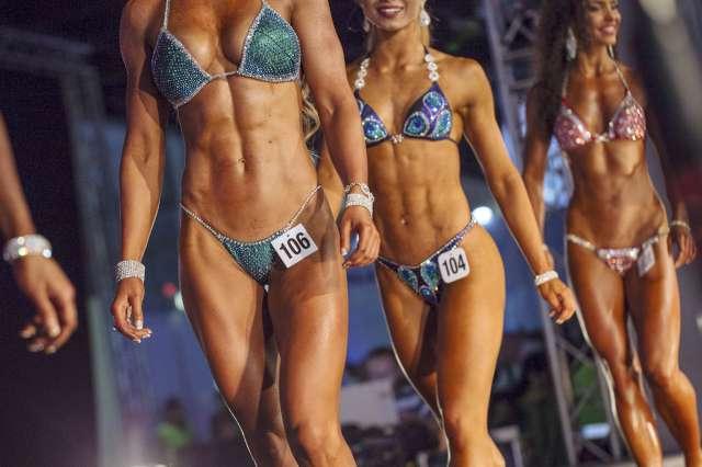 bikini vücut yarışması Foto: DepoPhotos