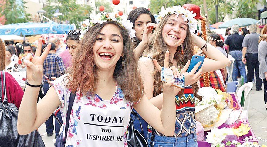 On binler Ot Festivali'nde buluştu