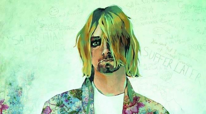 Kurt Cobain'in hayatı çizgi roman oluyor