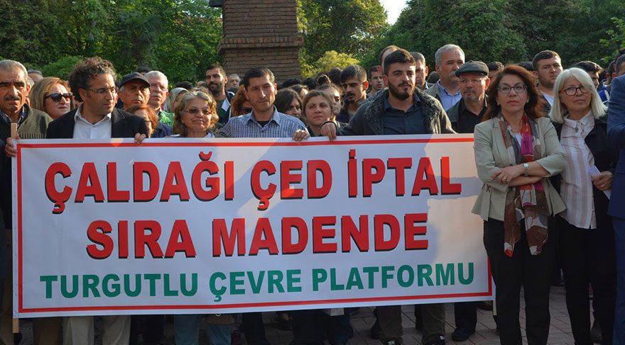 Turgutlu'da çevreciler kazandı