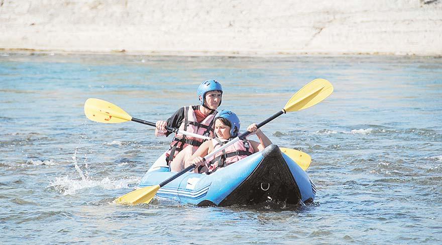 Rafting sezonu başladı