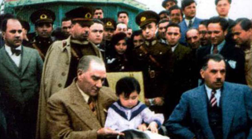 Dünyada çocuklarına bayram hediye eden tek lider Atatürk!