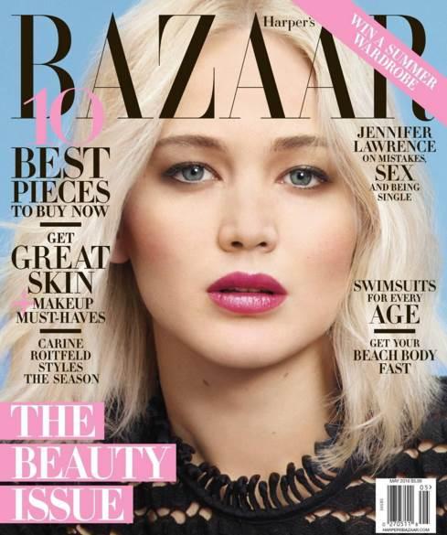 Jennifer Lawrence Foto: Harper's Bazaar