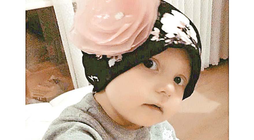 İlik nakli yapılan Duru bebeğin sağlığı iyi